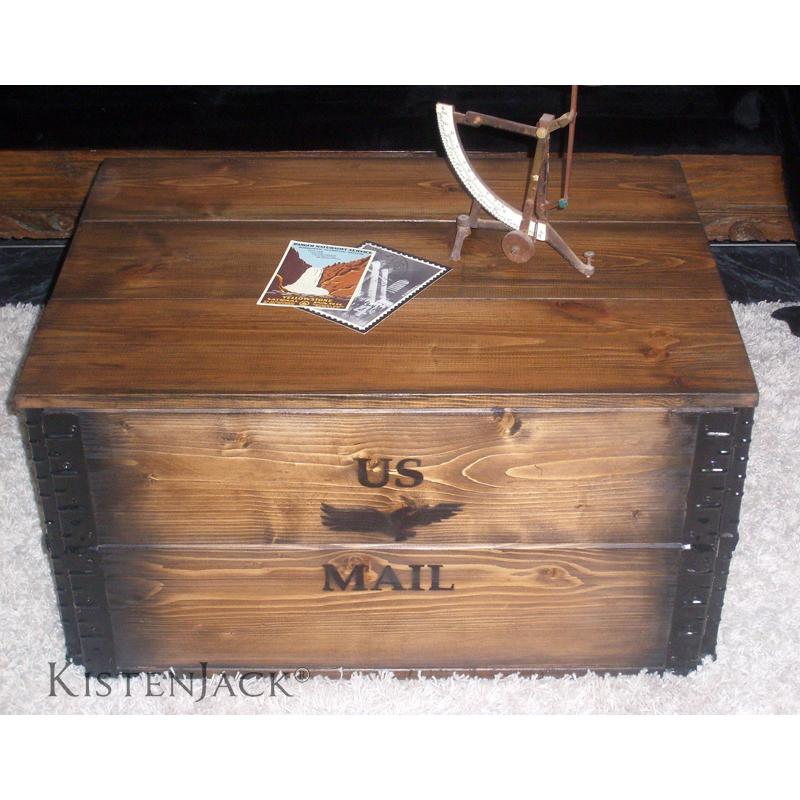 """Kiste """"US Air Mail"""" LKistenjack  Kistenjack"""