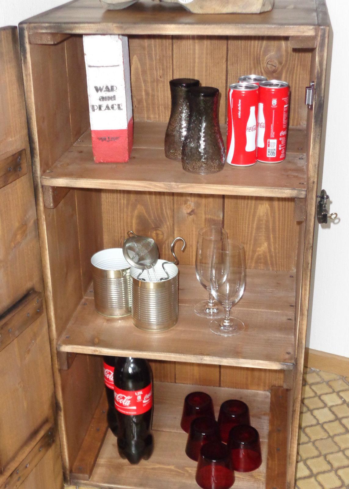 RAW RUSTIC# Hausbar SchrankKistenjack - Kistenjack