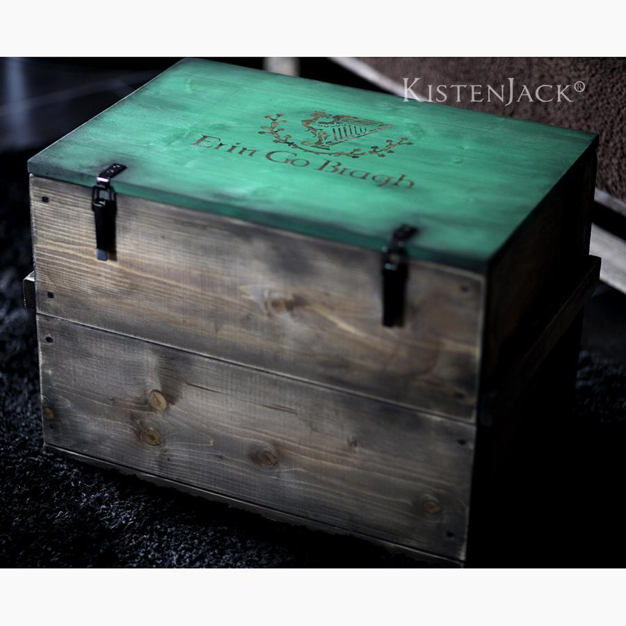 kiste st patrick mkistenjack kistenjack. Black Bedroom Furniture Sets. Home Design Ideas