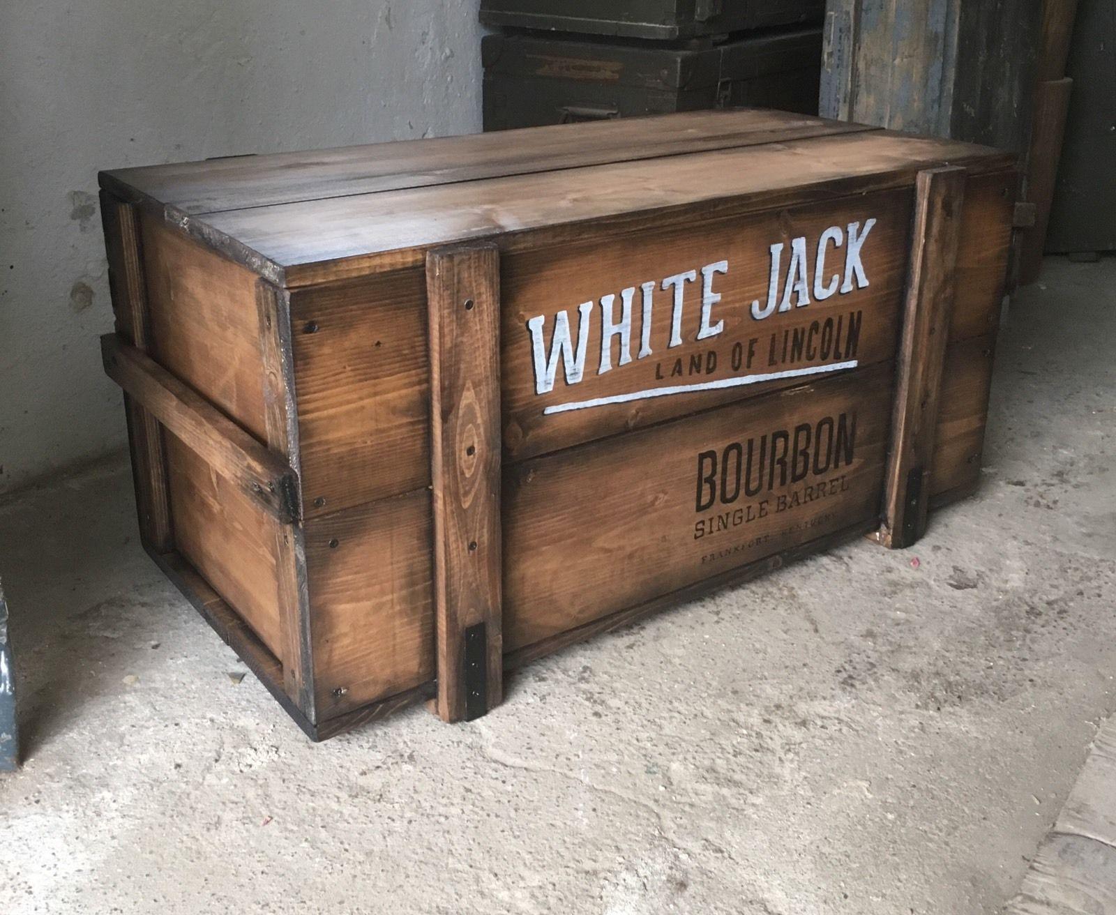 Truhe WHITE JACK Kistenjack  Kistenjack